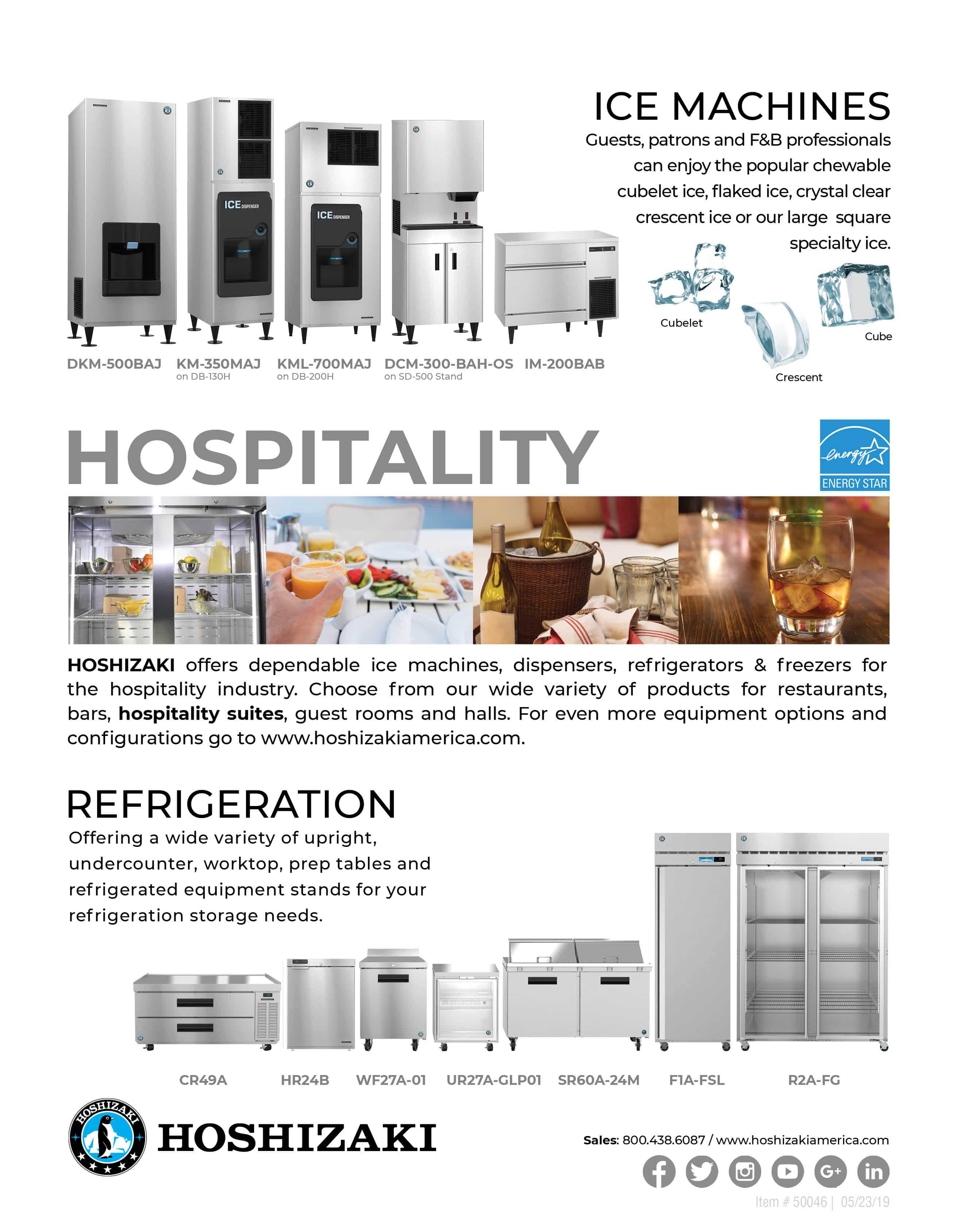 Hospitality Segment Flyer