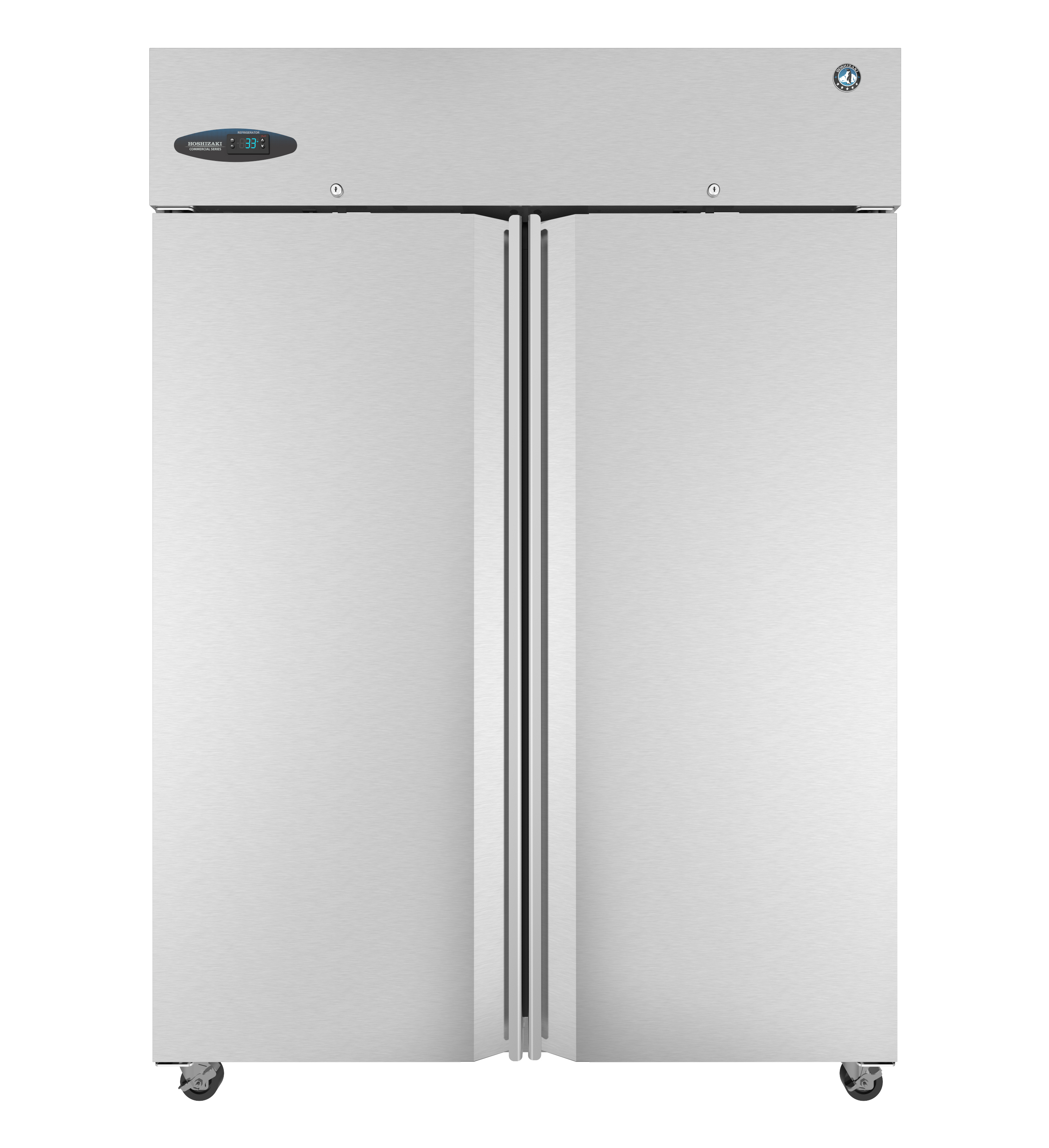 Cf2s Fs Commercial Series Upright Freezer Two Section With Lockable Full Stainless Doors