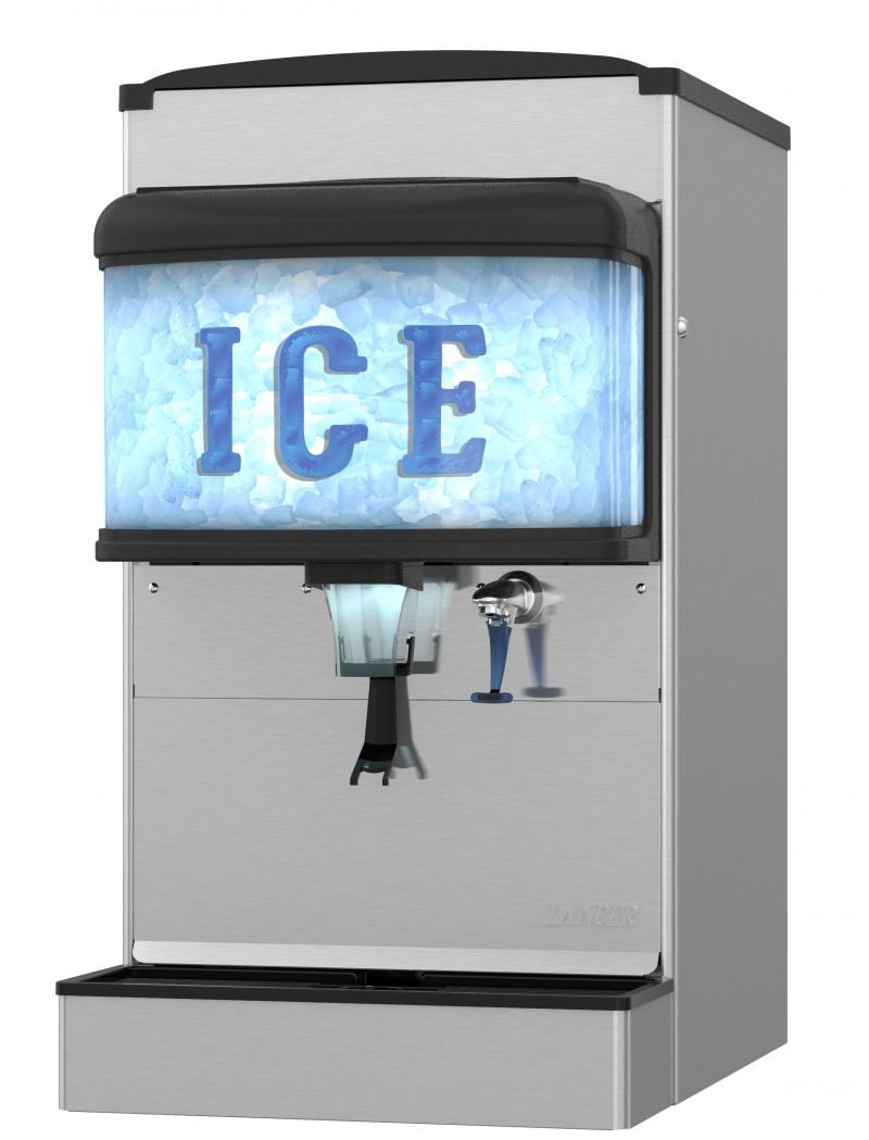 """22"""" W Countertop Ice and Water Dispenser"""